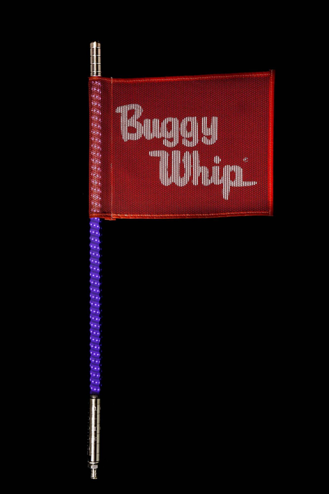 Buggy Whip - Purple LED Buggy Whip®