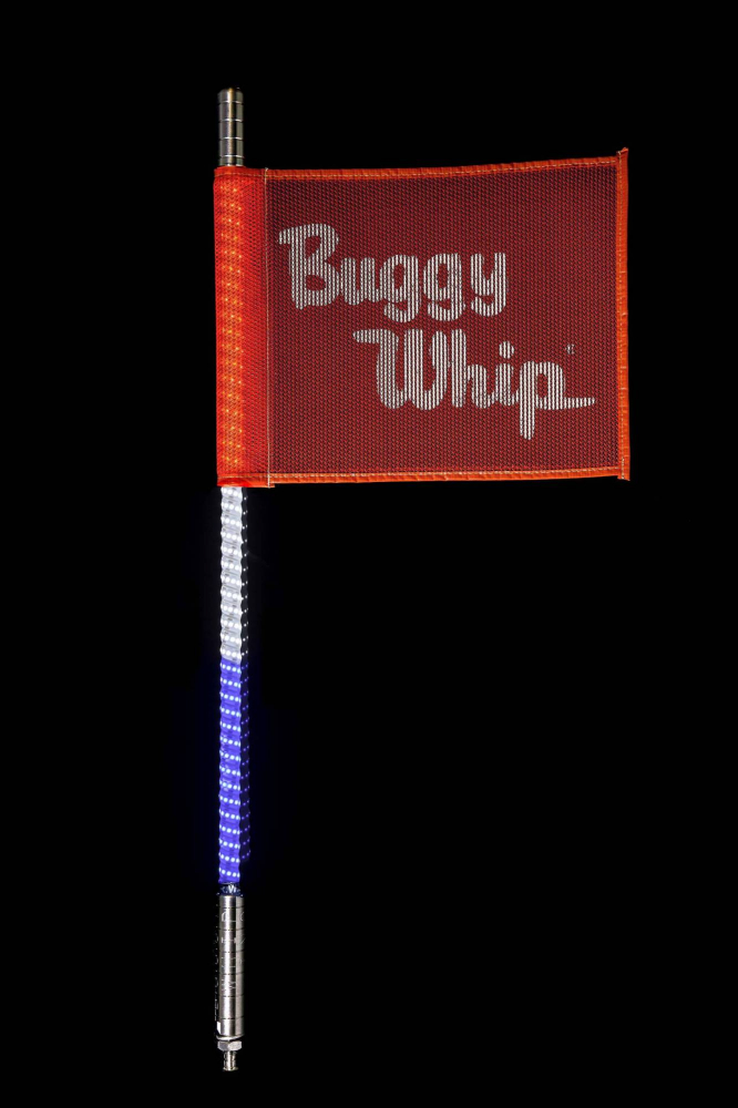 Buggy Whip - Red White & Blue LED Buggy Whip®