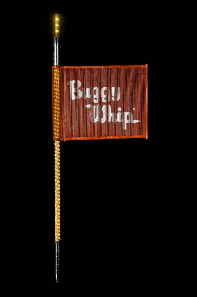 Buggy Whip - Amber LED Buggy Whip® with Lighted Top Option