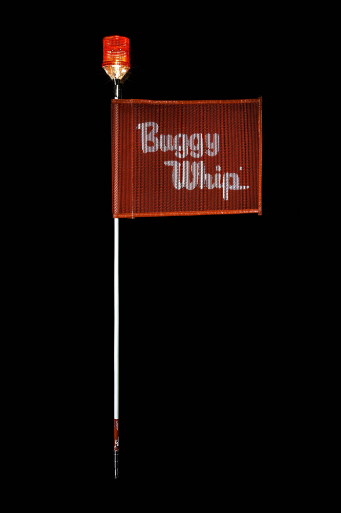 Buggy Whip - Standard Fiberglass Buggy Whip® With Lamp Holder