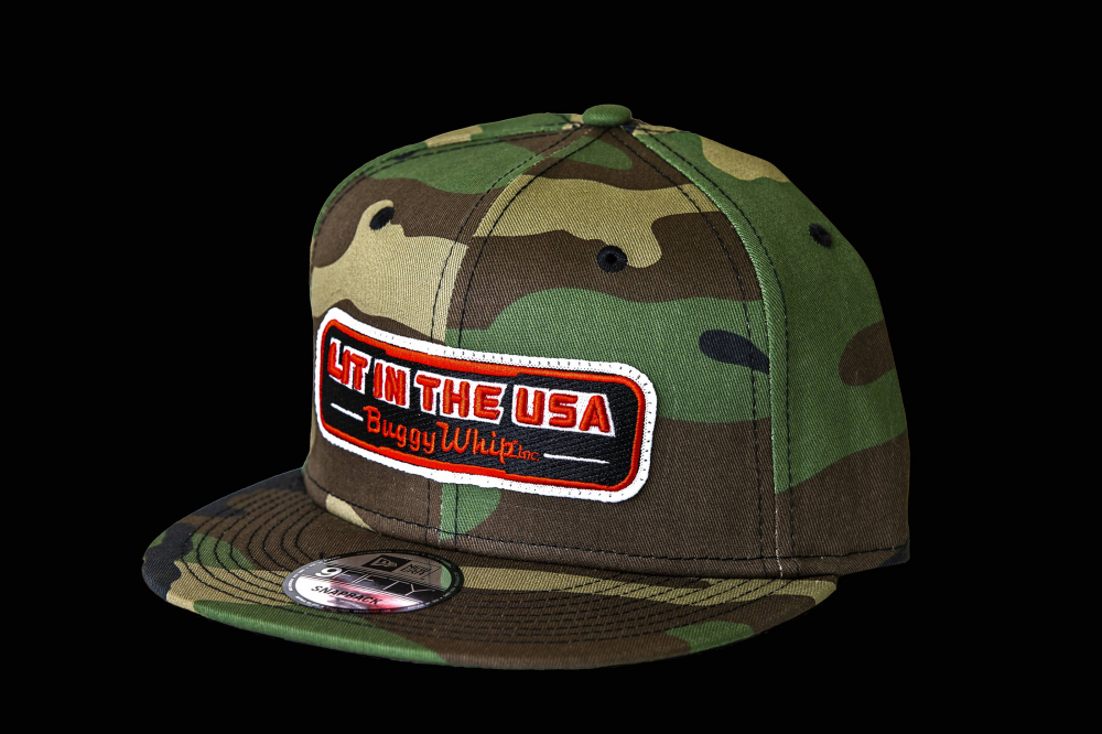 Buggy Whip - New Era® Camo LIT IN THE USA® Hat