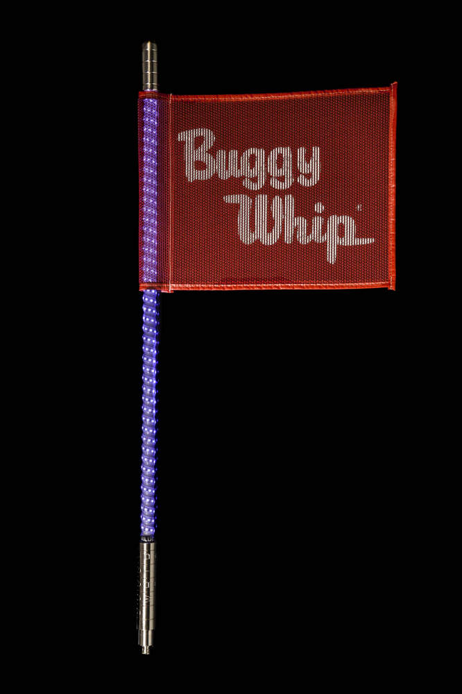 Blue Quick Release Buggy Whip