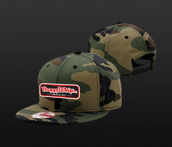 Camo New Era Snap Back