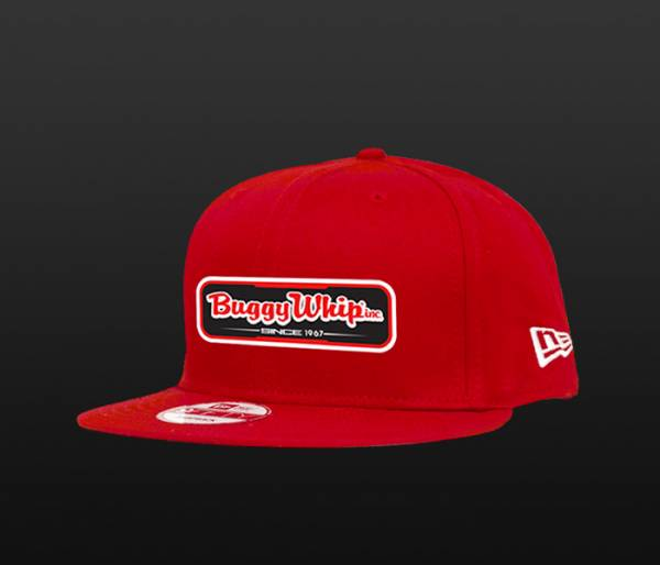 Red New Era Snap Back