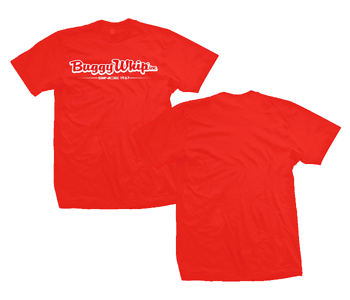 Buggy Whip® Inc. Red T-Shirt