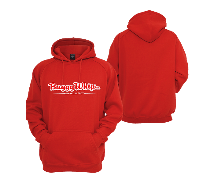 Buggy Whip® Inc. Red Hoodie
