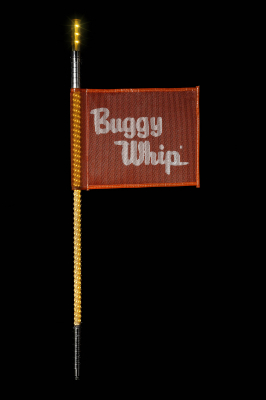 Buggy Whip - Amber LED Buggy Whip® with Lighted Top Option - Image 1