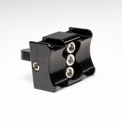 ADJUSTABLE ANGLE FLAG/WHIP MOUNT - CLAMPS  NOT INCLUDED - Image 1