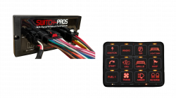 RCR-FORCE® 12  Switch Complete Vehicle Wiring System By SWITCH PROS
