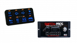 SP-9100 8 Switch Complete Vehicle Wiring System By SWITCH PROS