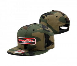 Apparel  - New Era Camo Buggy Whip® Inc. Hat