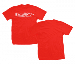 Apparel  - Buggy Whip®Inc. Red T-Shirt