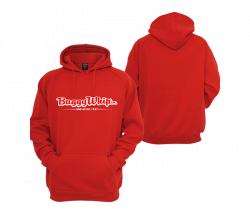 Apparel  - Buggy Whip® Inc.Red Hoodie